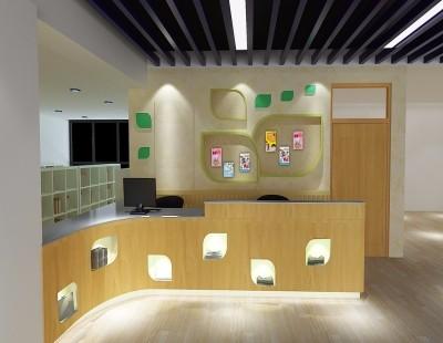 二师附小乐乐书苑文化设计