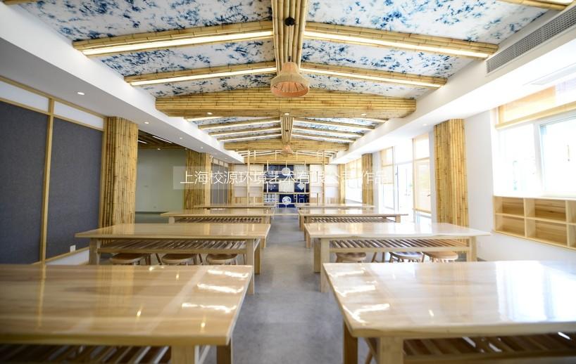 上海华东理工大学附属中学 扎染创新实验室整体设计装饰
